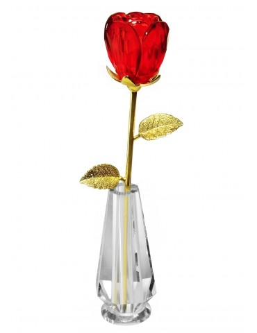 ROSE-GLASS (tulip) + VASE...